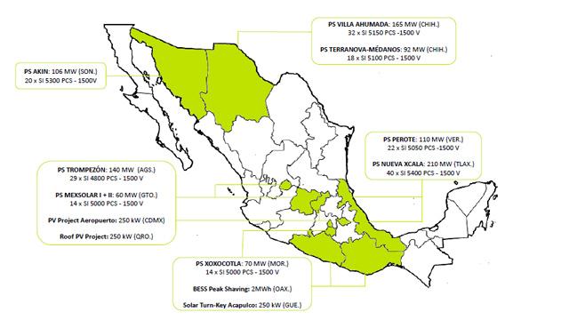 Jema energy ha sido adjudicada con 210 mw en un nuevo proyecto en Mexico