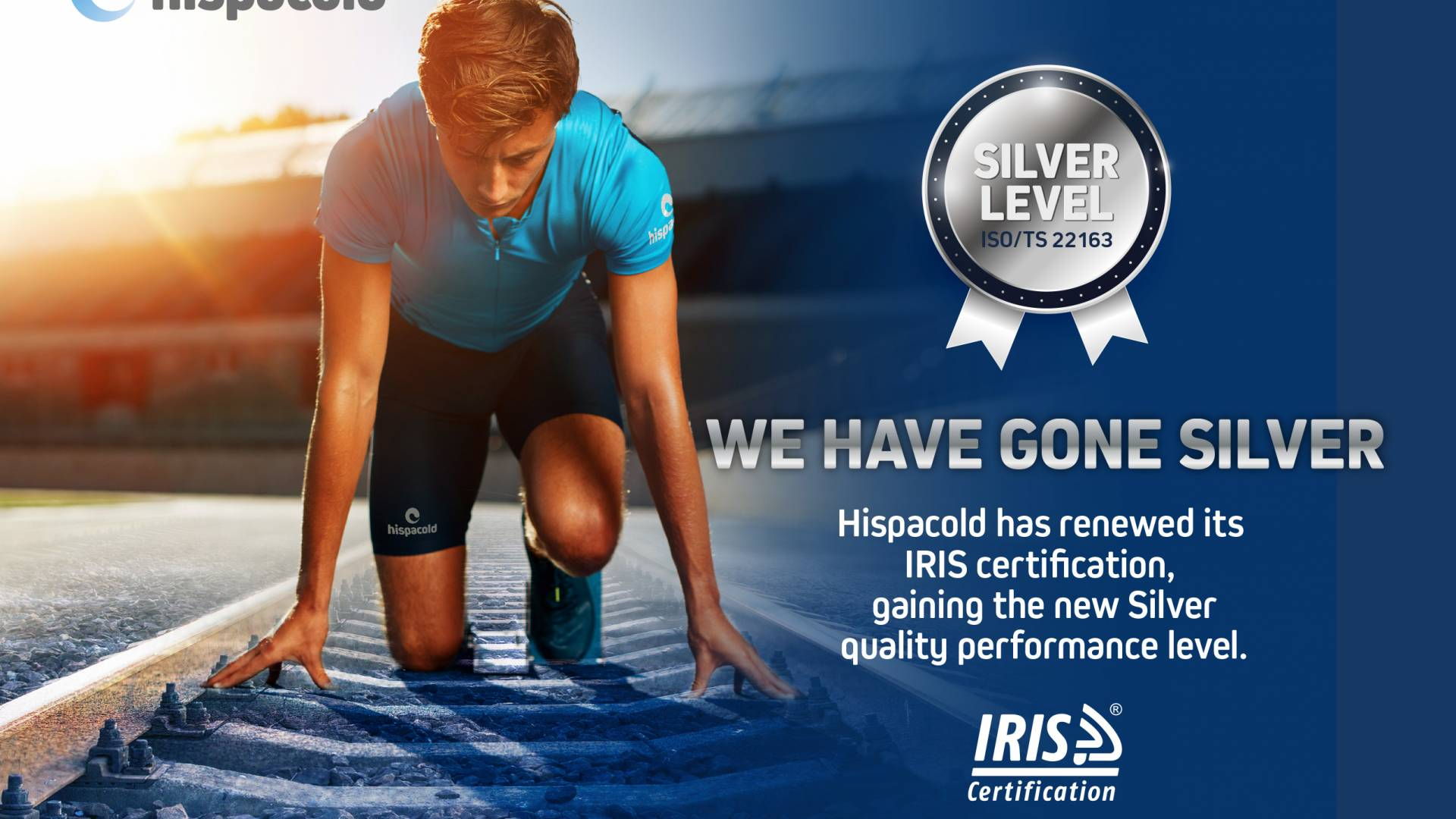 Hispacold renews IRIS performance quality certificate and gains top level Silver