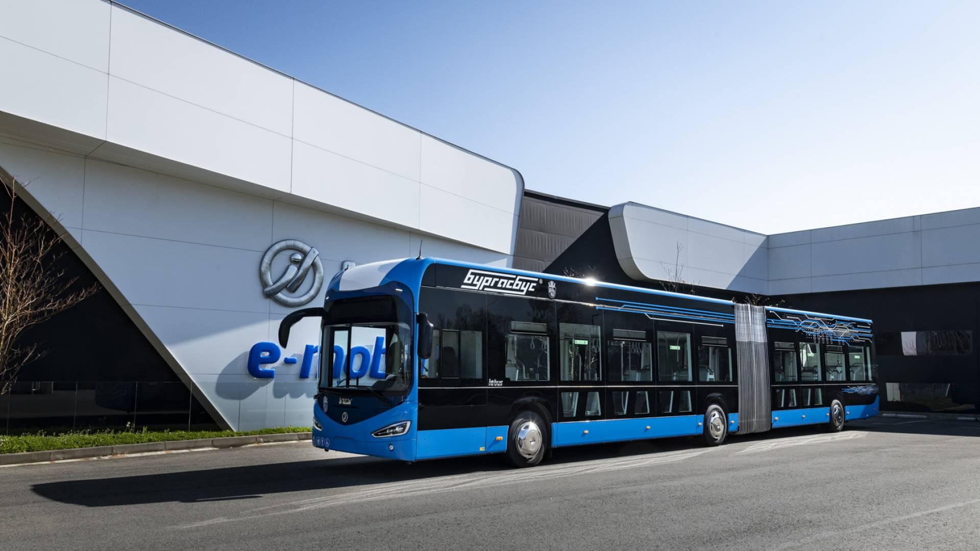 Primeros autobuses eléctricos de Irizar e-mobility presentados en la ciudad de Burgas en Bulgaria
