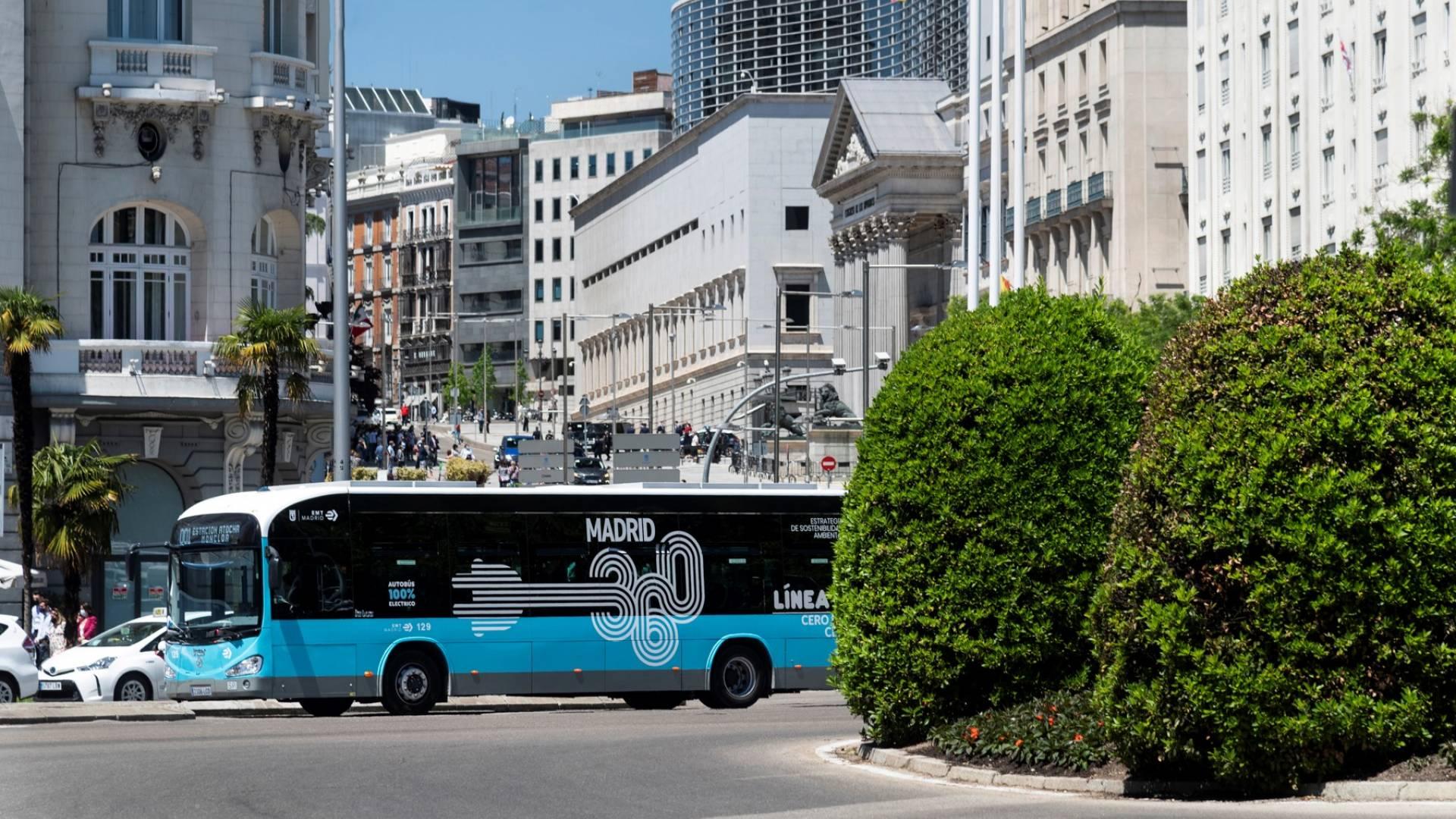 La EMT de Madrid vuelve a confiar en Irizar e-mobility y suma 30 autobuses eléctricos más a su flota