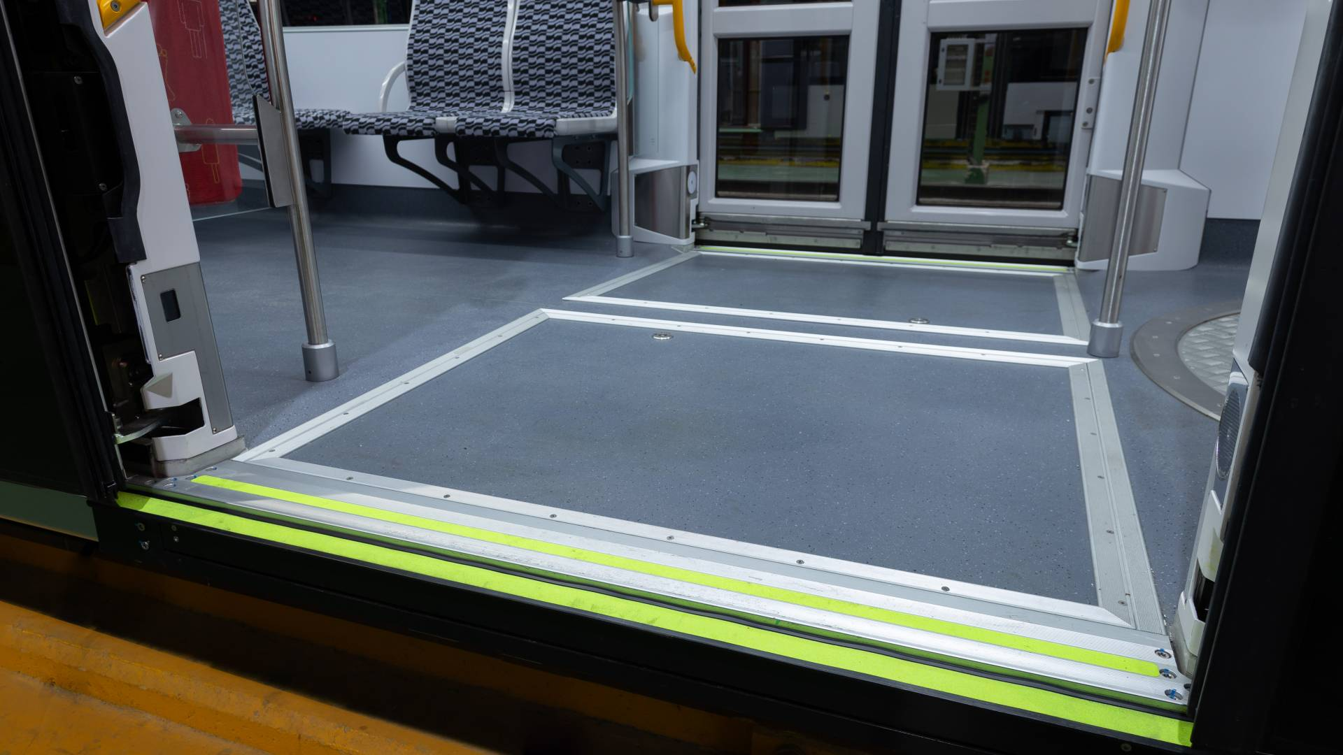 The Masats ramp selected for the Amsterdam tram