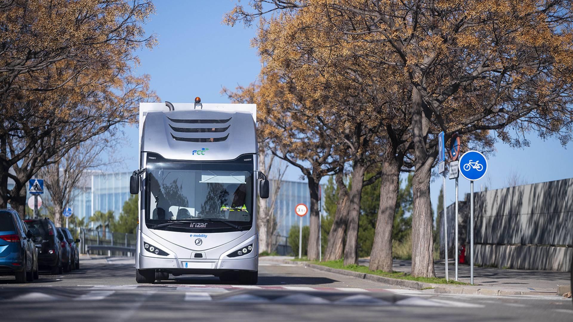 El Irizar ie truck protagonista de los Premios Europeos de Medio Ambiente a la Empresa