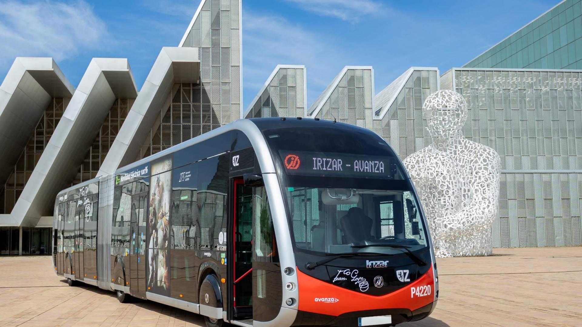 El Ayuntamiento de Zaragoza y Avanza apuestan por autobuses eléctricos de Irizar e-mobility para la renovación de su flota