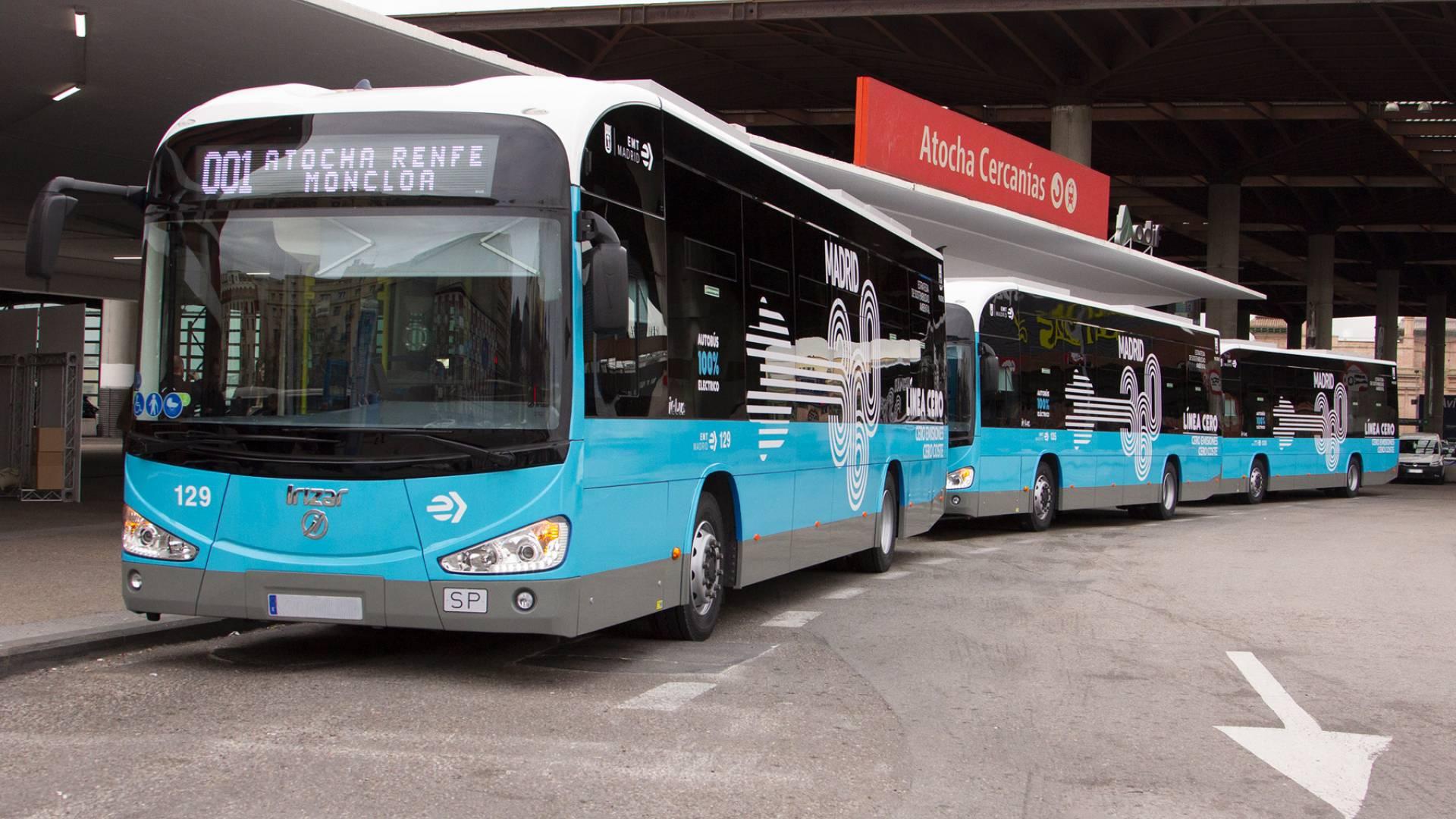 Tercer pedido de la EMT de Madrid a Irizar e-mobility